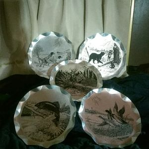 """Stylemaster """"tray plaque"""" set of five"""
